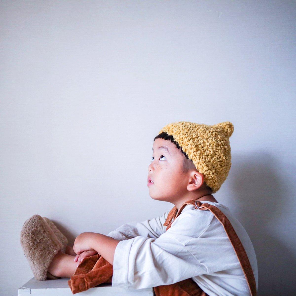 【KIDS】Donguri Knit Cap 詳細画像16