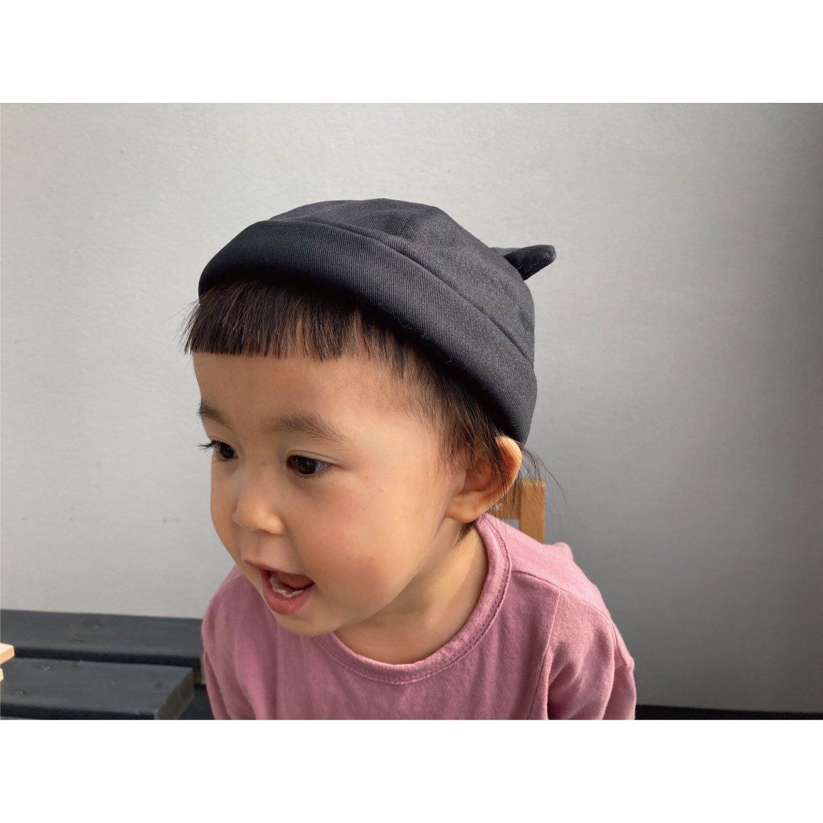 【KIDS】Bear Roll Cap 詳細画像13