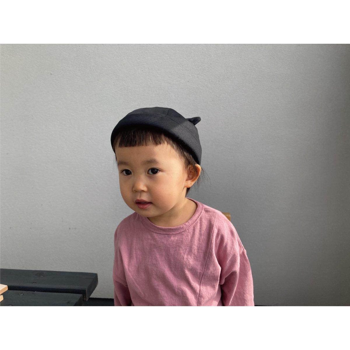 【KIDS】Bear Roll Cap 詳細画像14