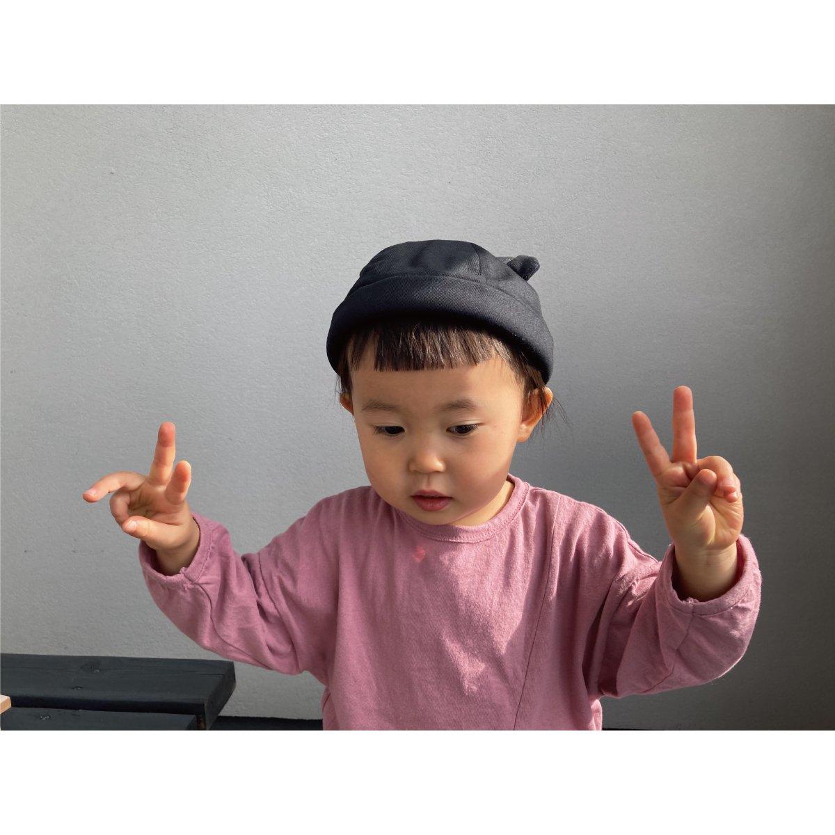 【KIDS】Bear Roll Cap 詳細画像15