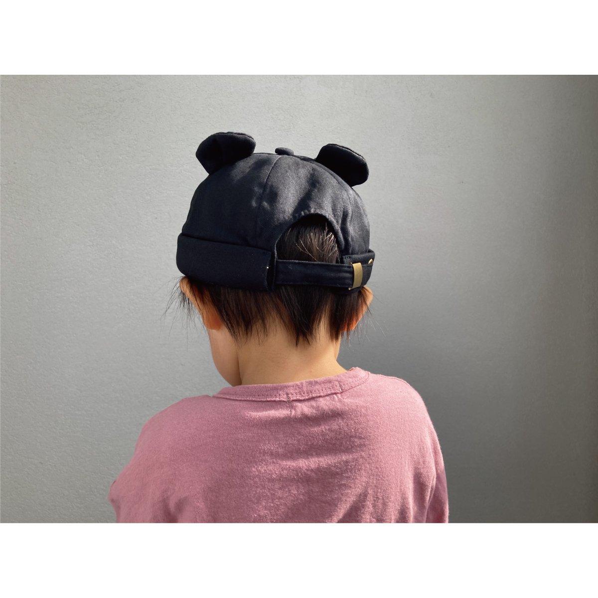 【KIDS】Bear Roll Cap 詳細画像17