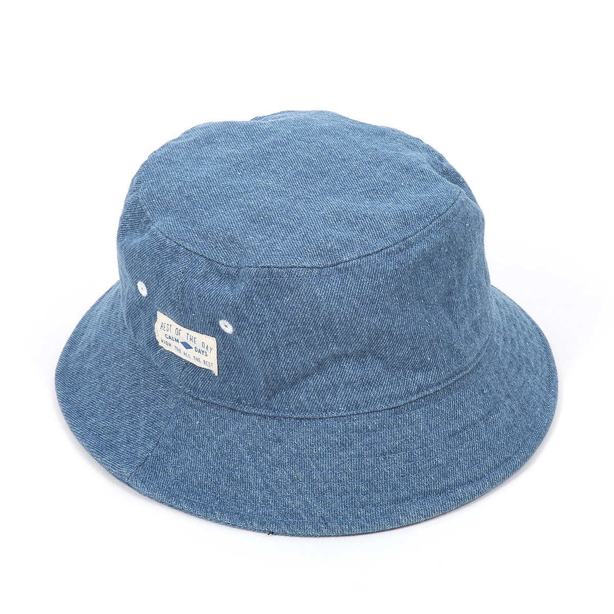 Wash Denim Bucket Hat 詳細画像3