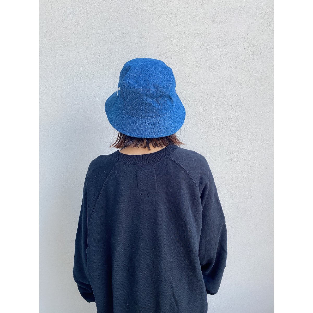 Wash Denim Bucket Hat 詳細画像8
