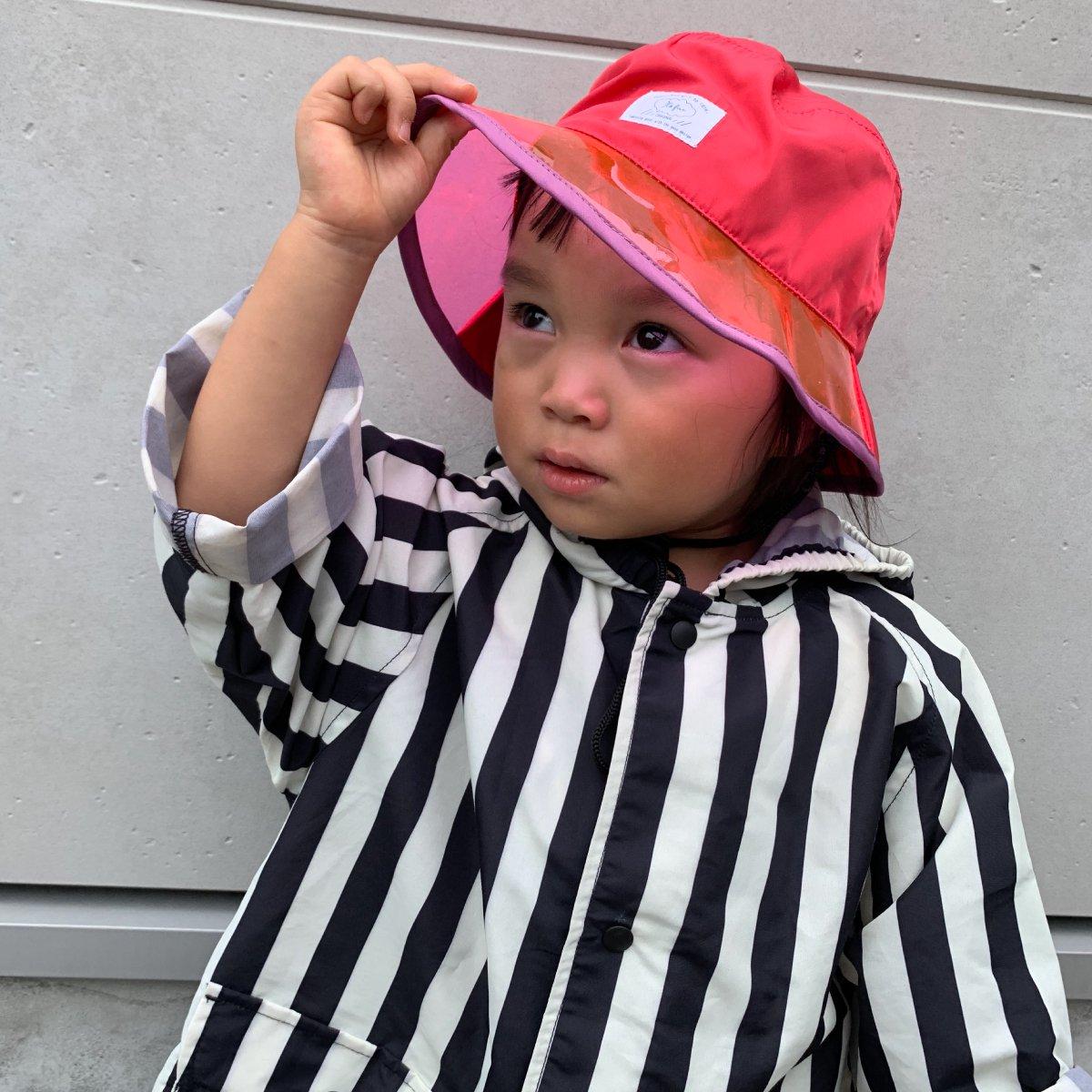 【KIDS】Rain PVC Hat 詳細画像15