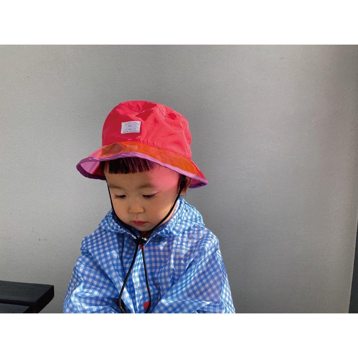 【KIDS】Rain PVC Hat 詳細画像19