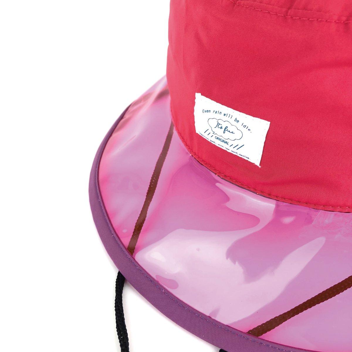 【KIDS】Rain PVC Hat 詳細画像8