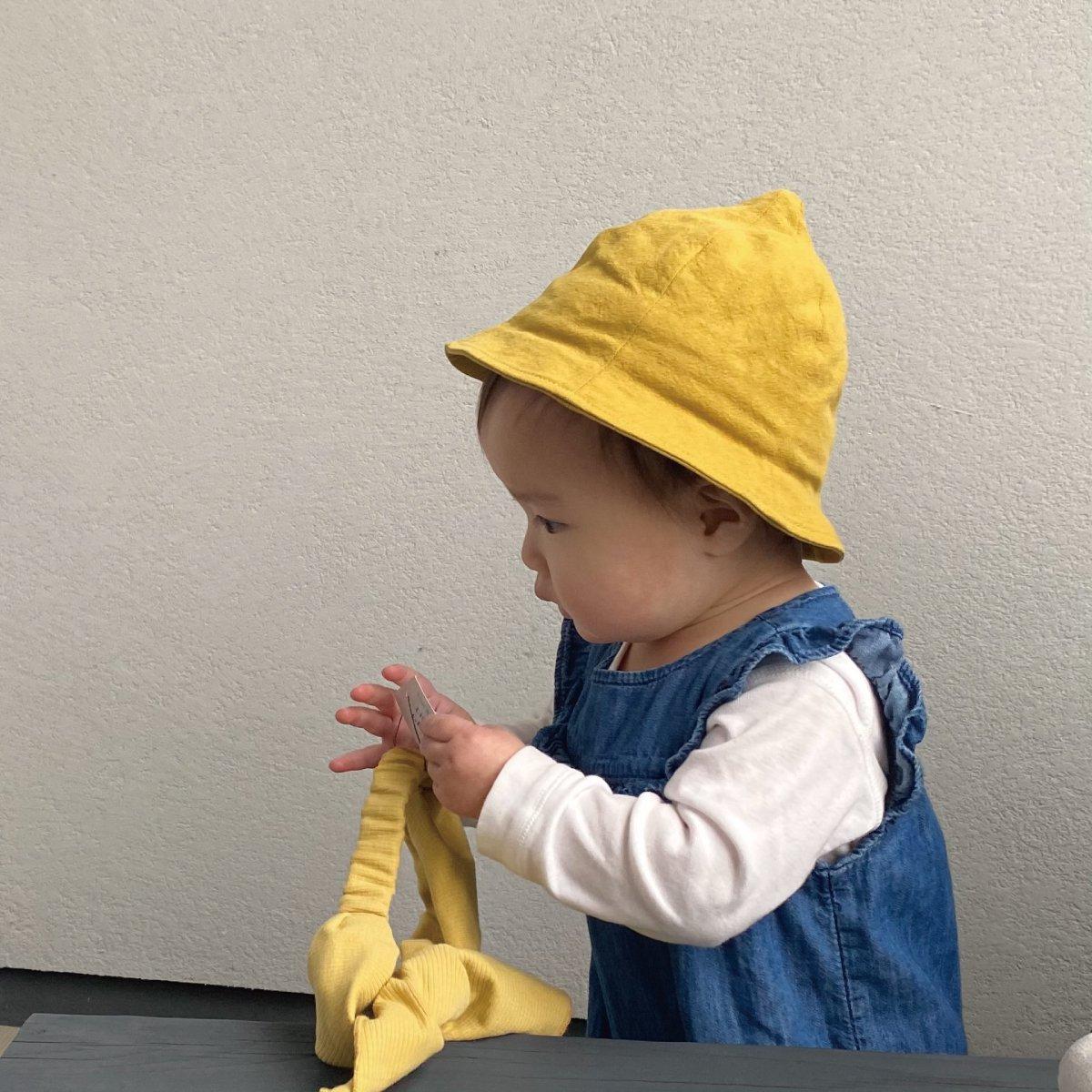 【BABY】Linen Tulips Hat 詳細画像6