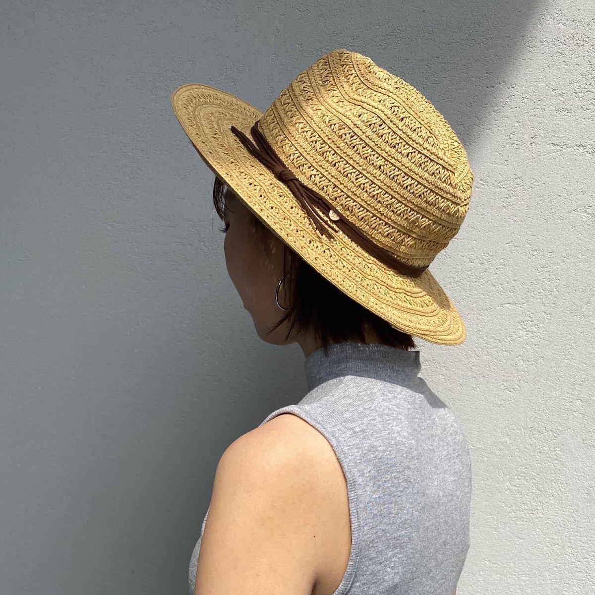 Suede String Hat