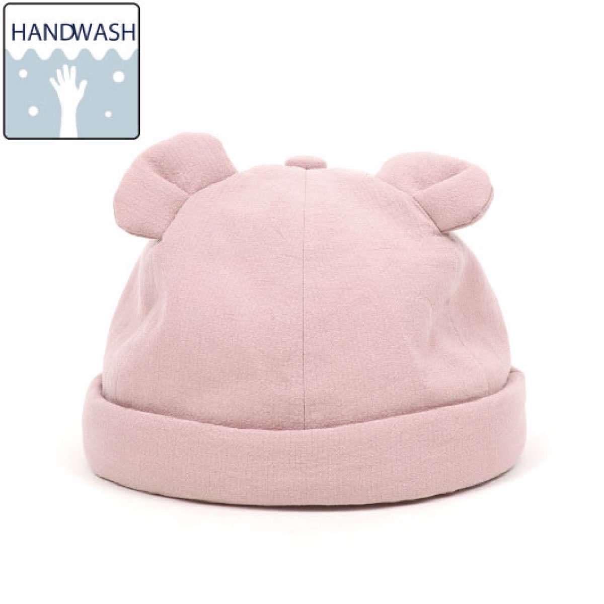 【BABY】Baby Linen Bear Cap 詳細画像1
