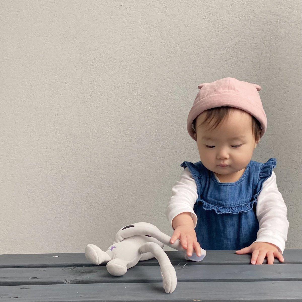 【BABY】Baby Linen Bear Cap 詳細画像10