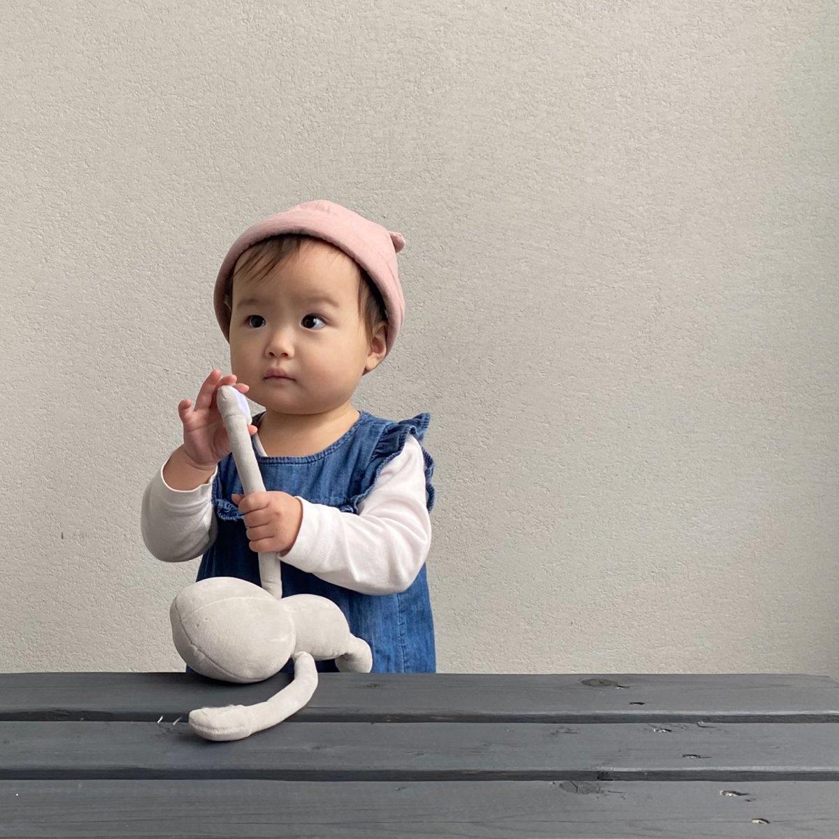 【BABY】Baby Linen Bear Cap 詳細画像11