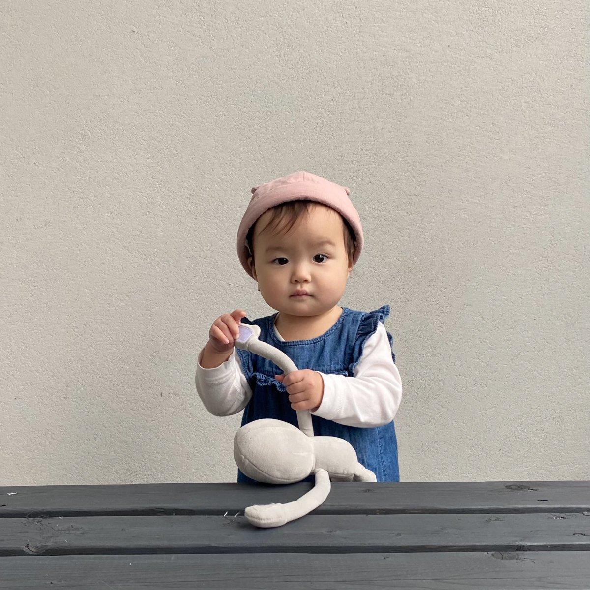 【BABY】Baby Linen Bear Cap 詳細画像12