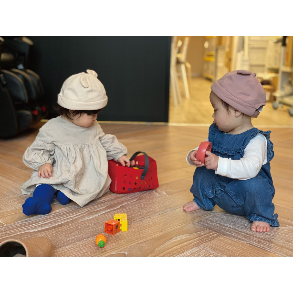 【BABY】Baby Linen Bear Cap 詳細画像13