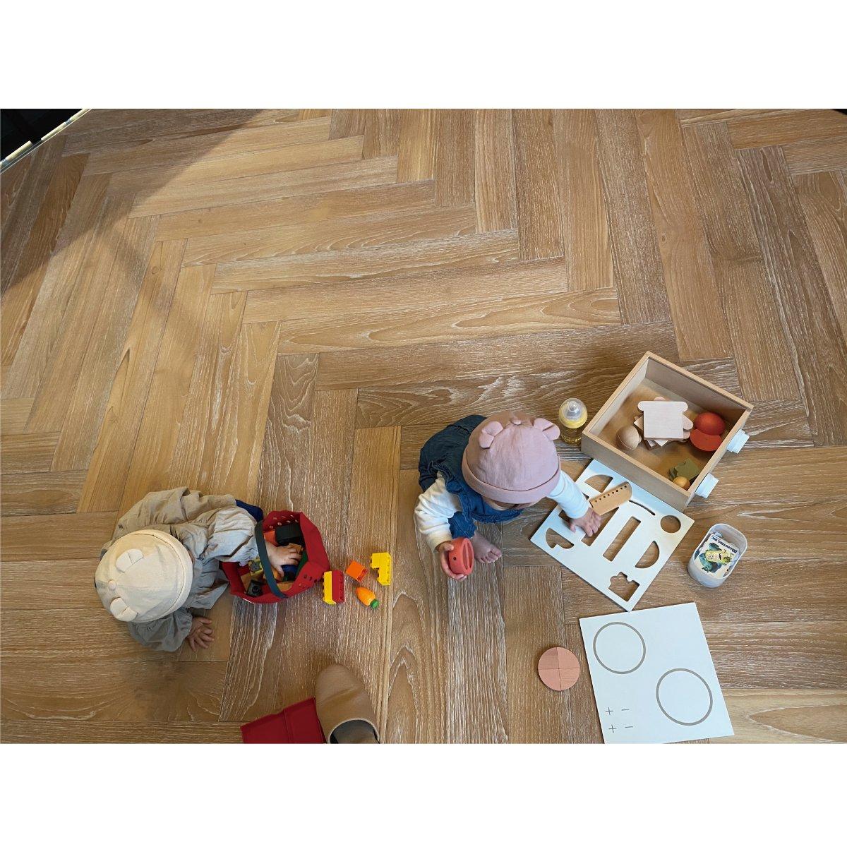 【BABY】Baby Linen Bear Cap 詳細画像14