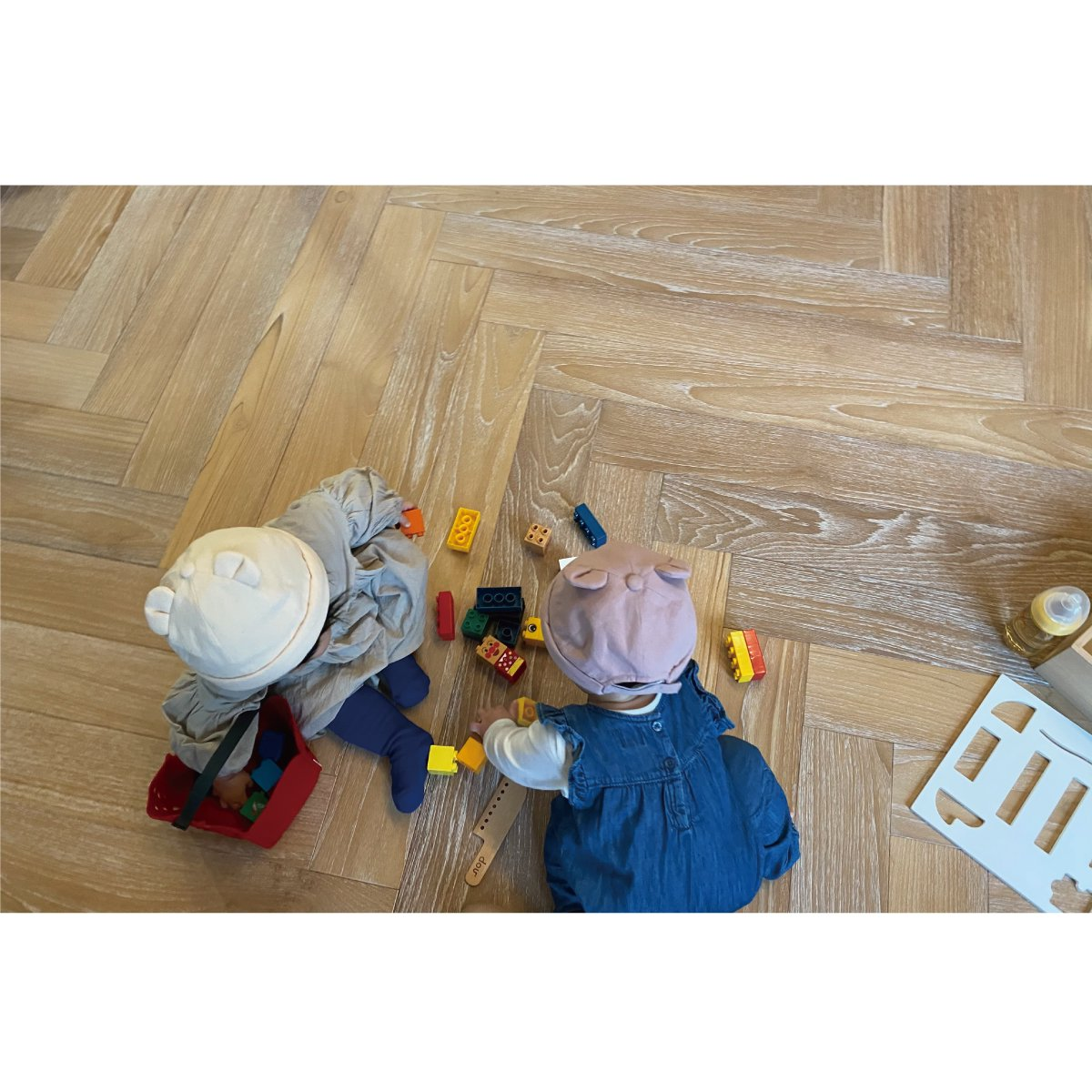 【BABY】Baby Linen Bear Cap 詳細画像15