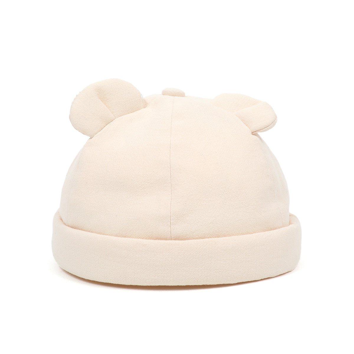 【BABY】Baby Linen Bear Cap 詳細画像2