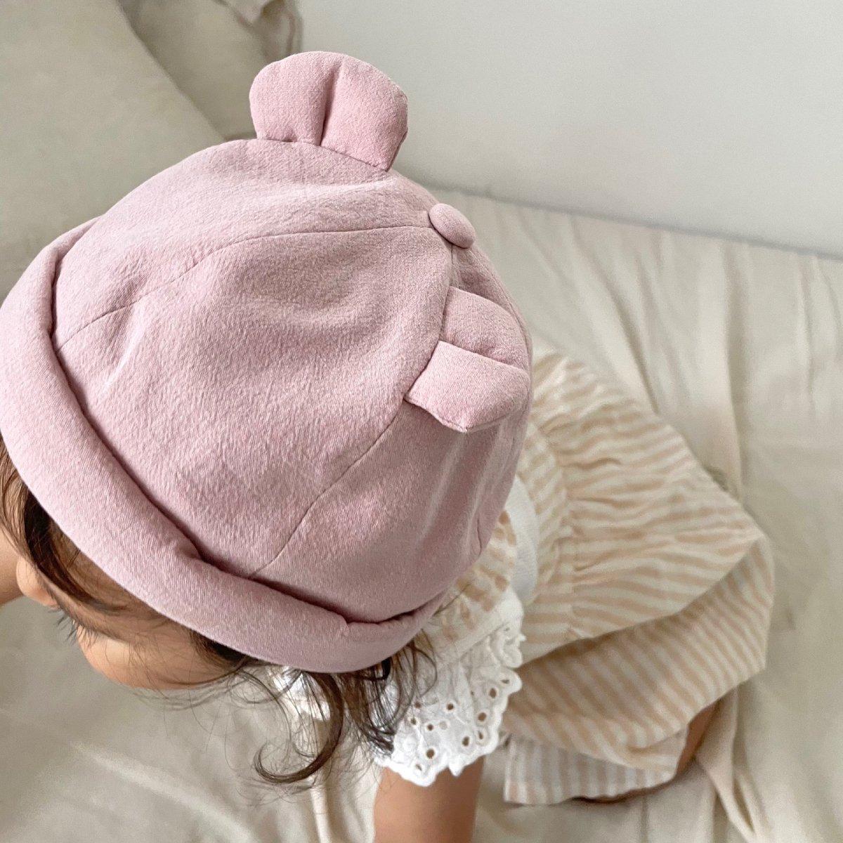 【BABY】Baby Linen Bear Cap 詳細画像23