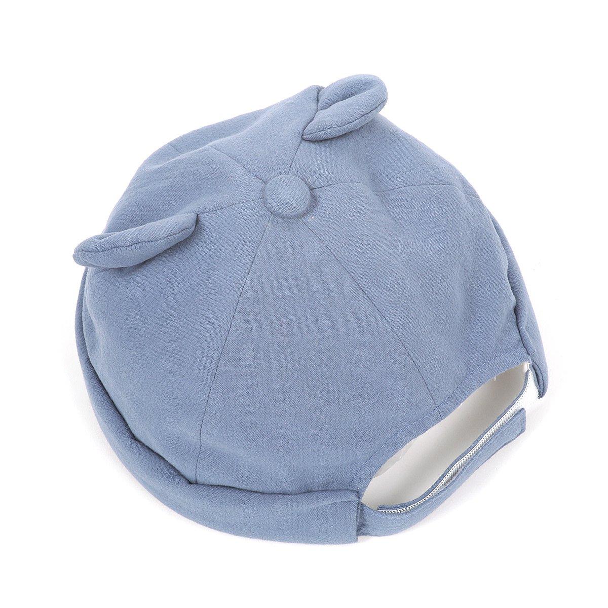 【BABY】Baby Linen Bear Cap 詳細画像7