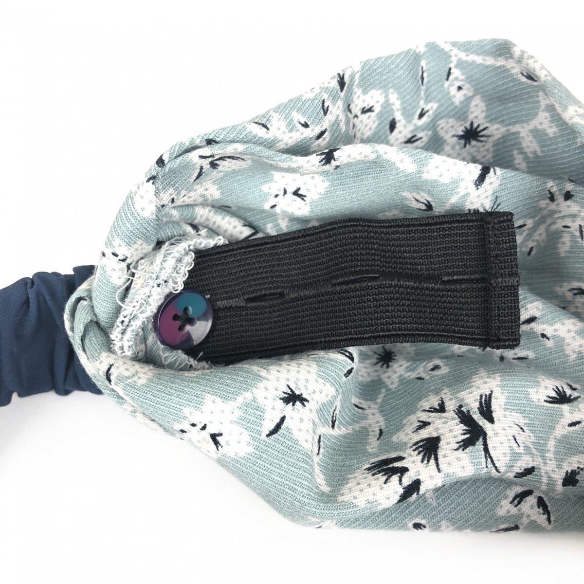 Mint Flower Turban 詳細画像4