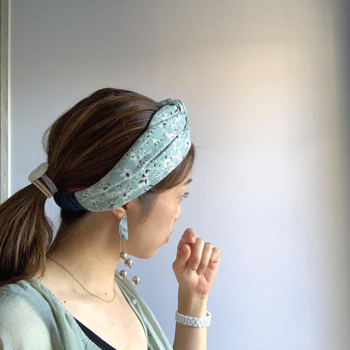 Mint Flower Turban 詳細画像6