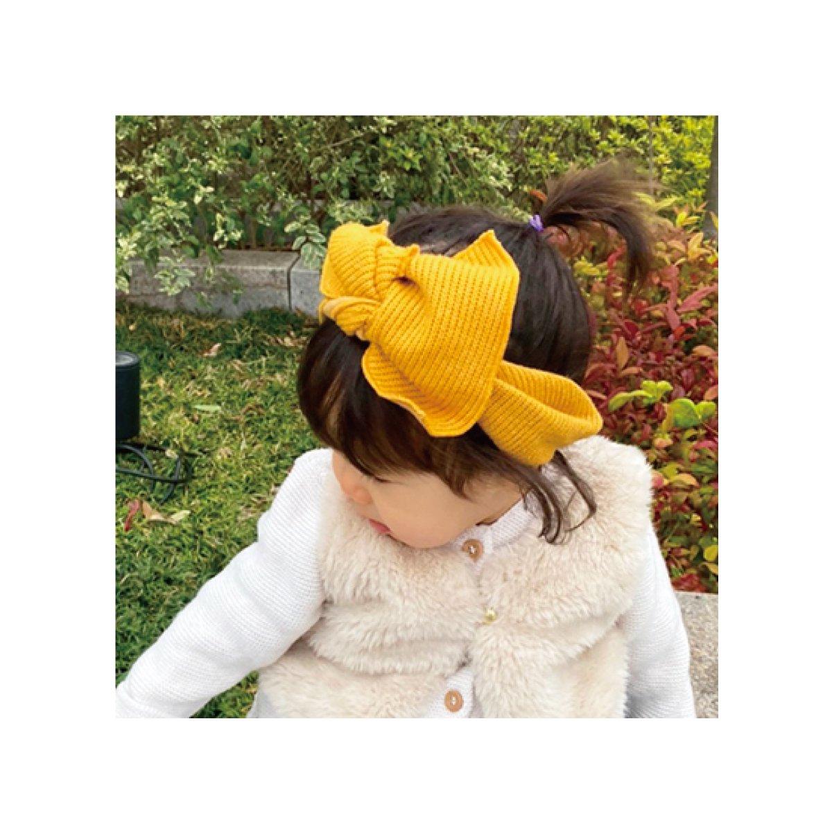 【BABY】Baby Knit Turban 詳細画像5
