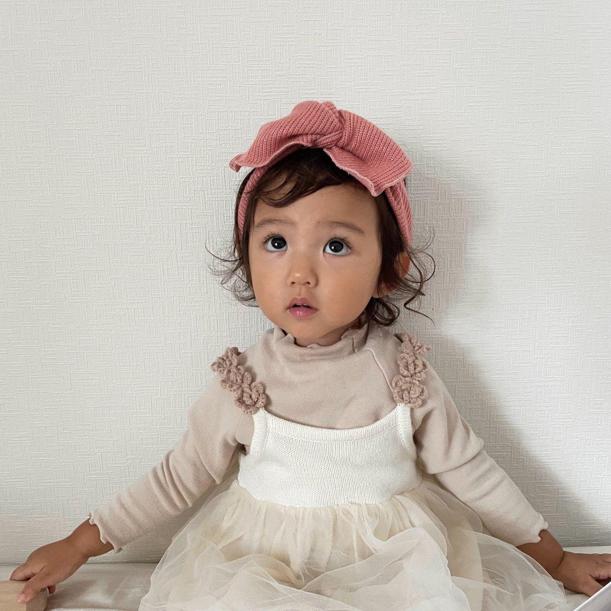 【BABY】Baby Knit Turban 詳細画像7