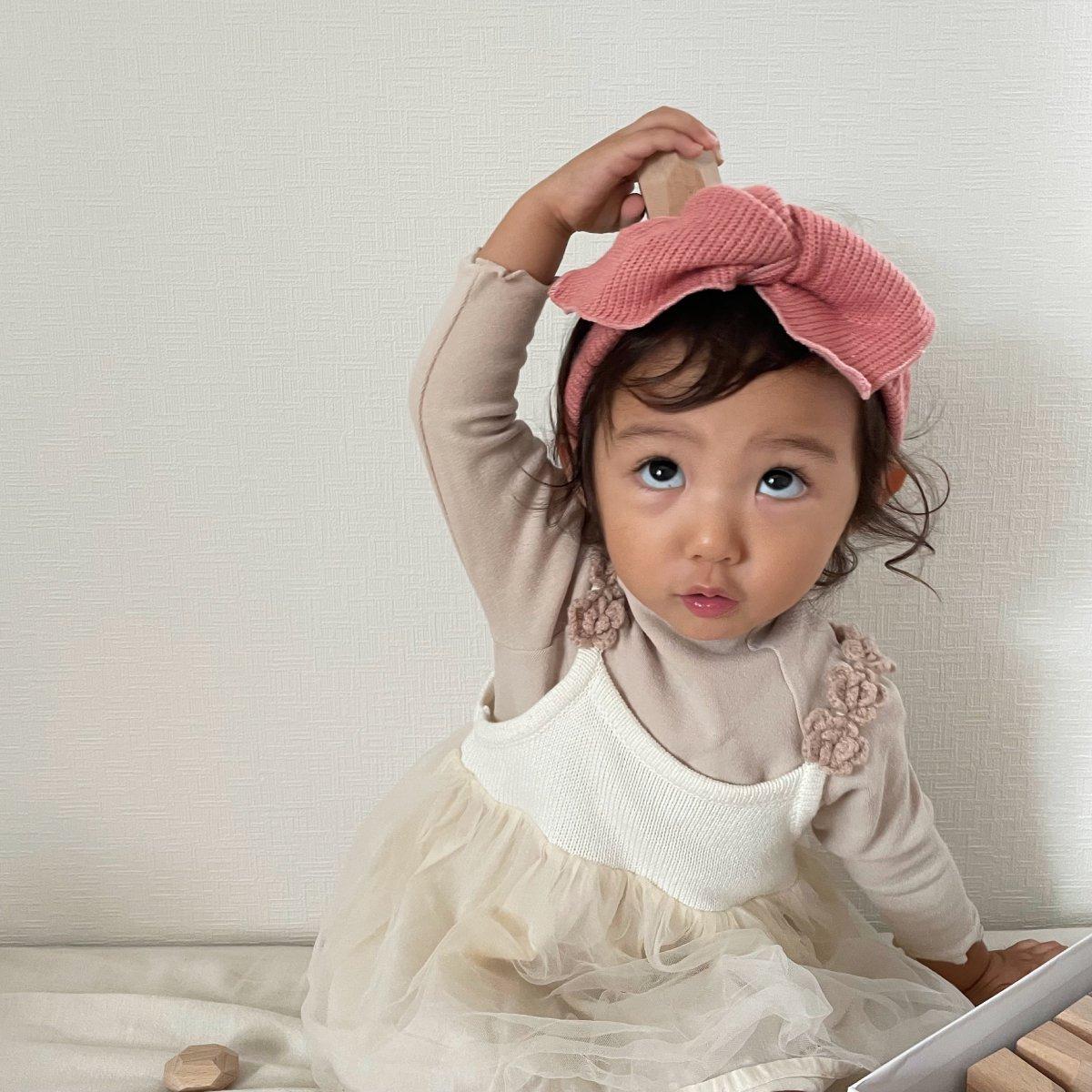 【BABY】Baby Knit Turban 詳細画像8
