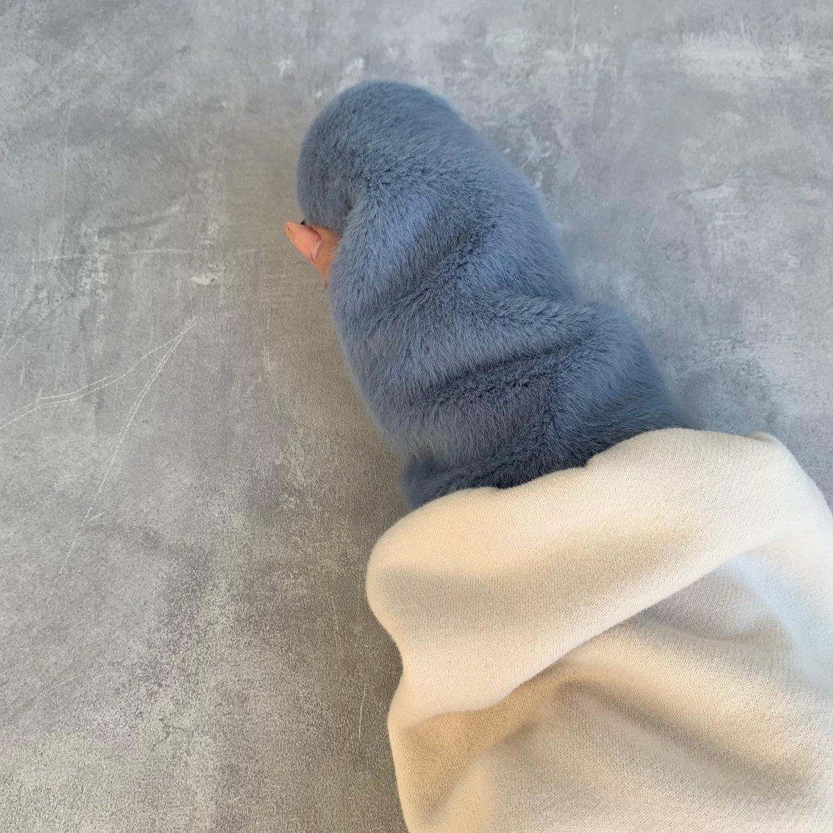 Fur Arm Warmer 詳細画像11