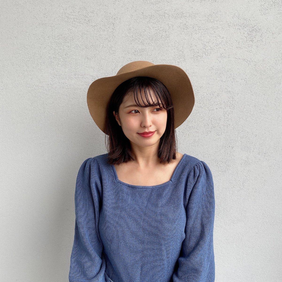 Felt Kankan Hat 詳細画像7