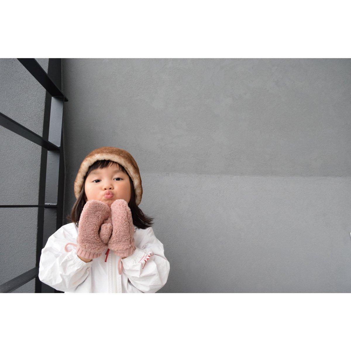 【KIDS】Boa Mittens 詳細画像5
