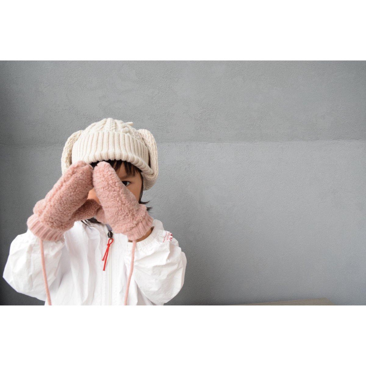 【KIDS】Boa Mittens 詳細画像6