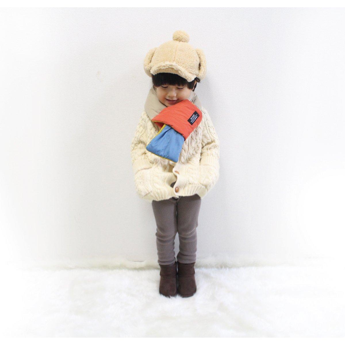 【KIDS】Down Muffler 詳細画像4