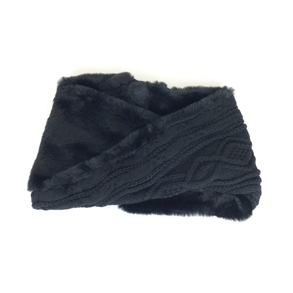 Fur Cable Snood 詳細画像3