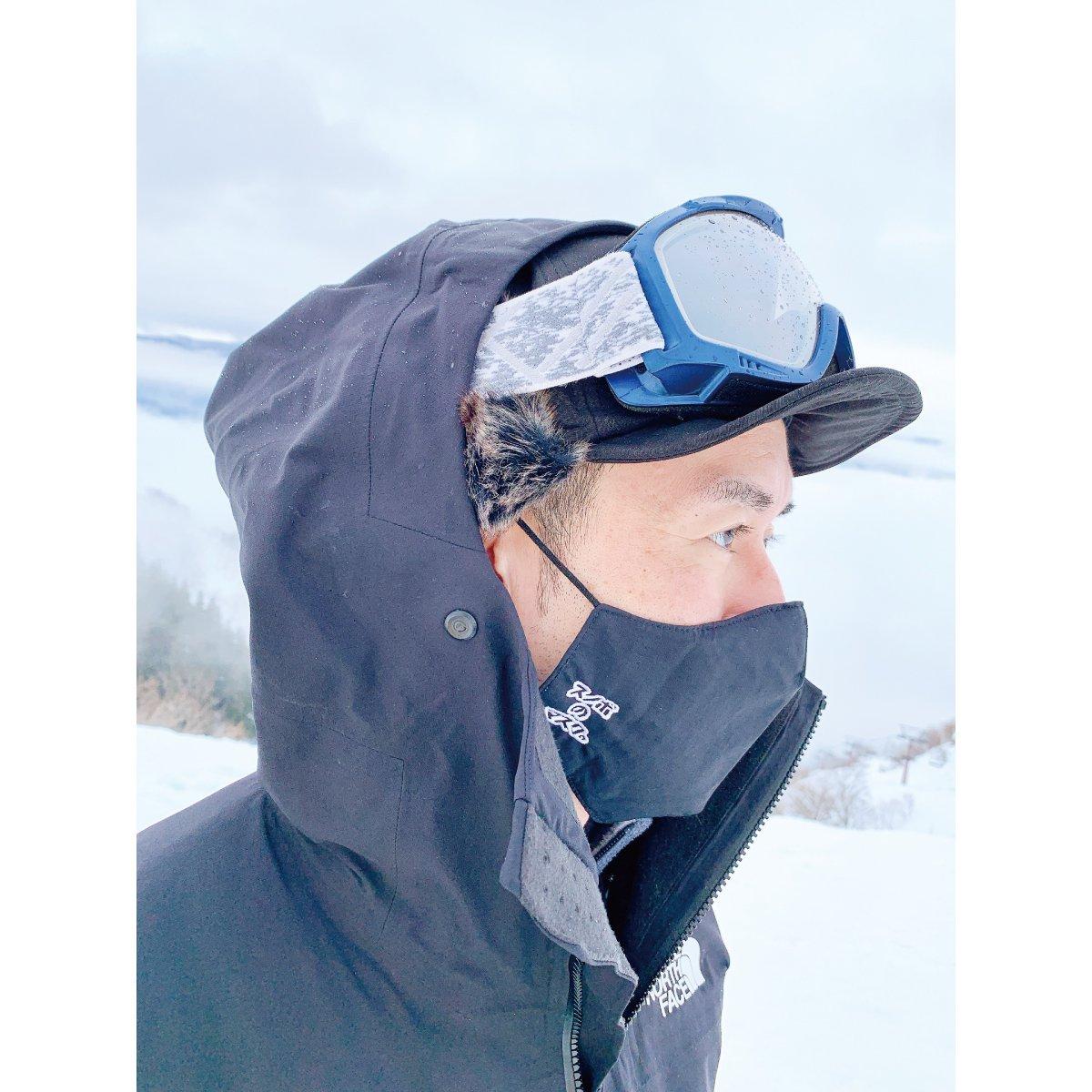 スノボのマスク。 詳細画像5