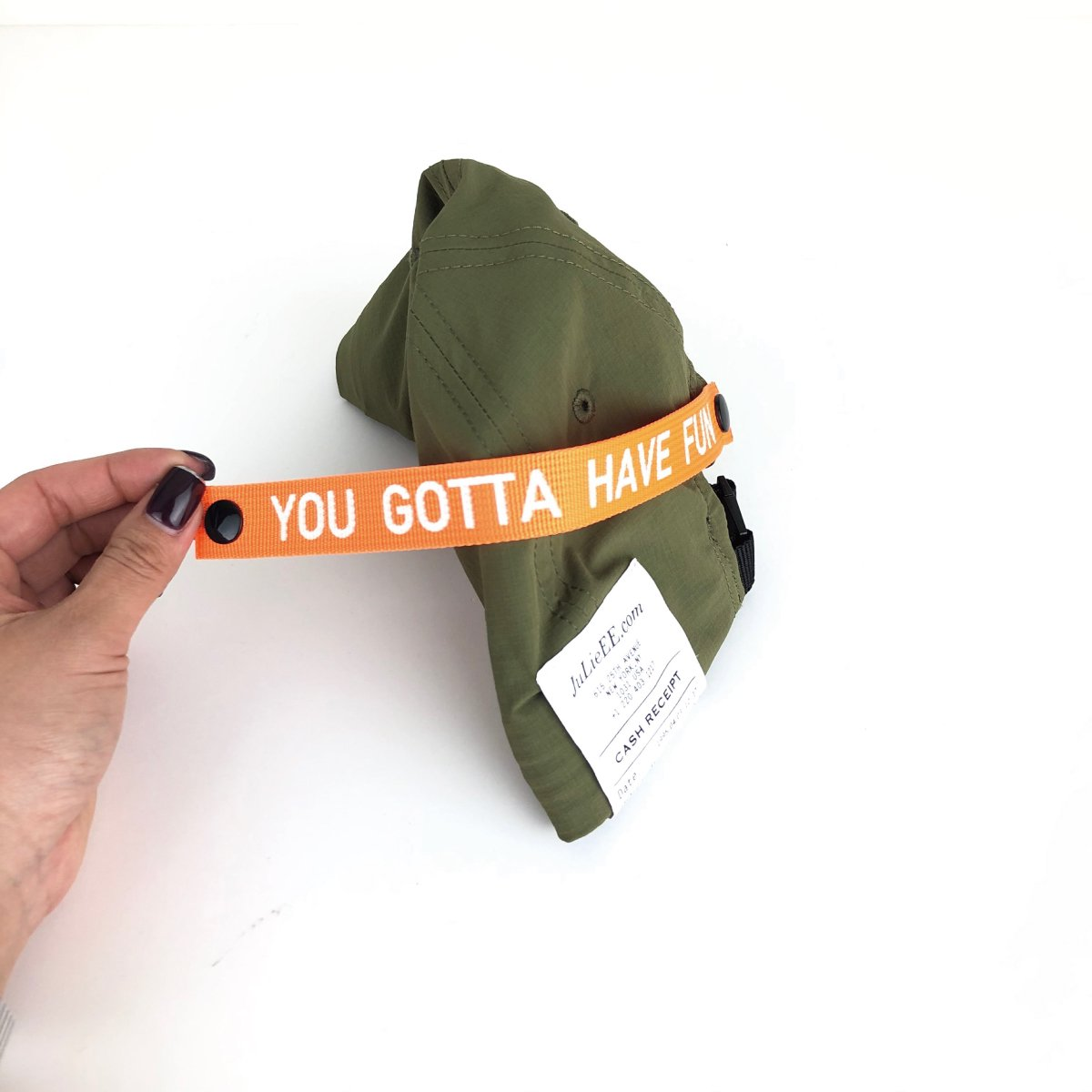 Packable Tape Cap