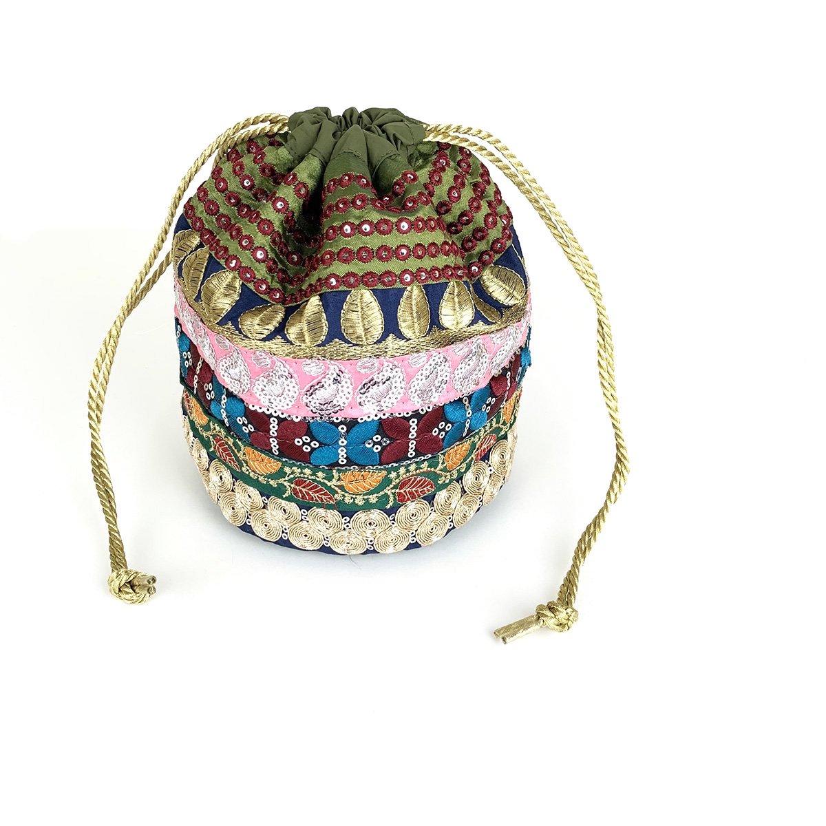 Ethnic Tape Bag 詳細画像1