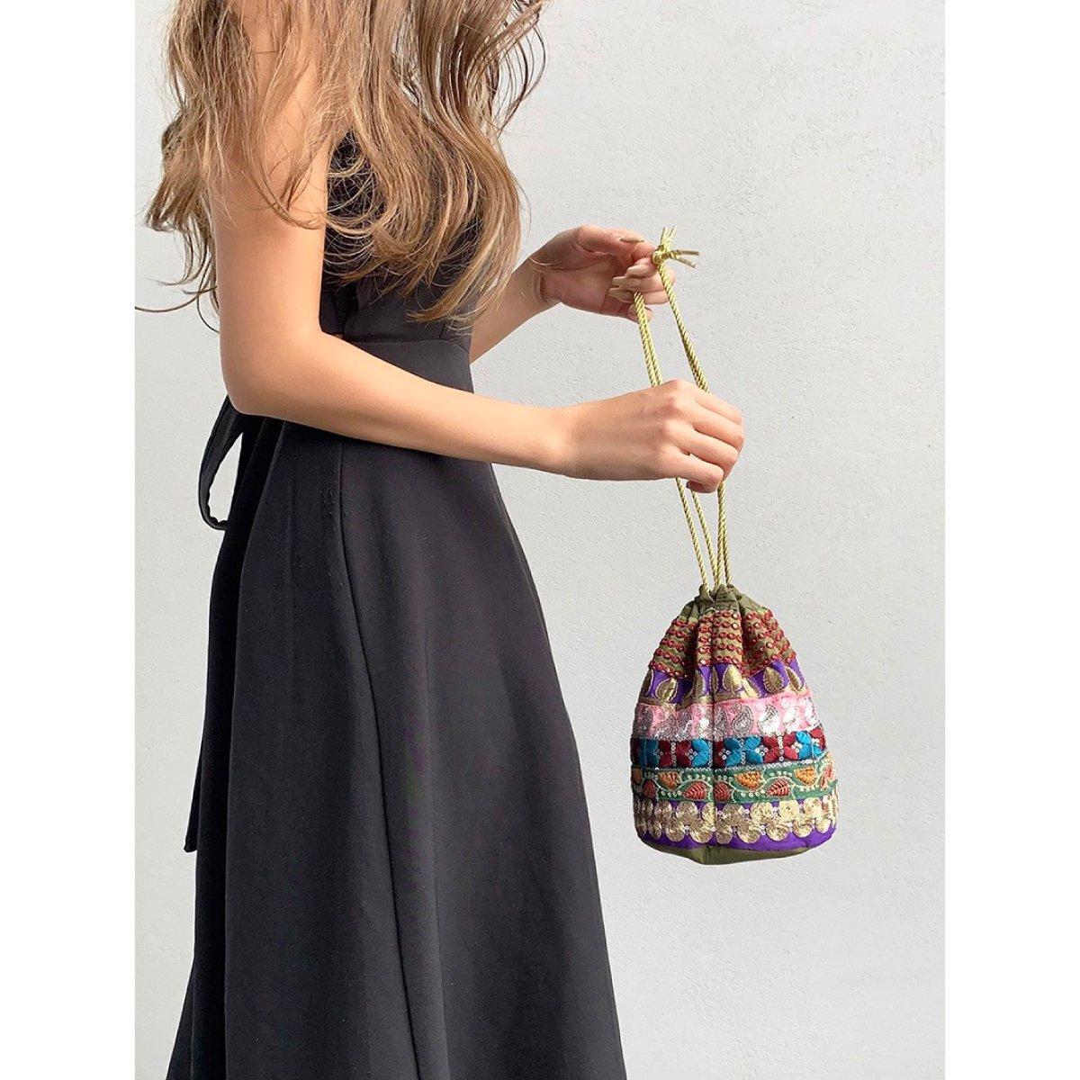 Ethnic Tape Bag 詳細画像12