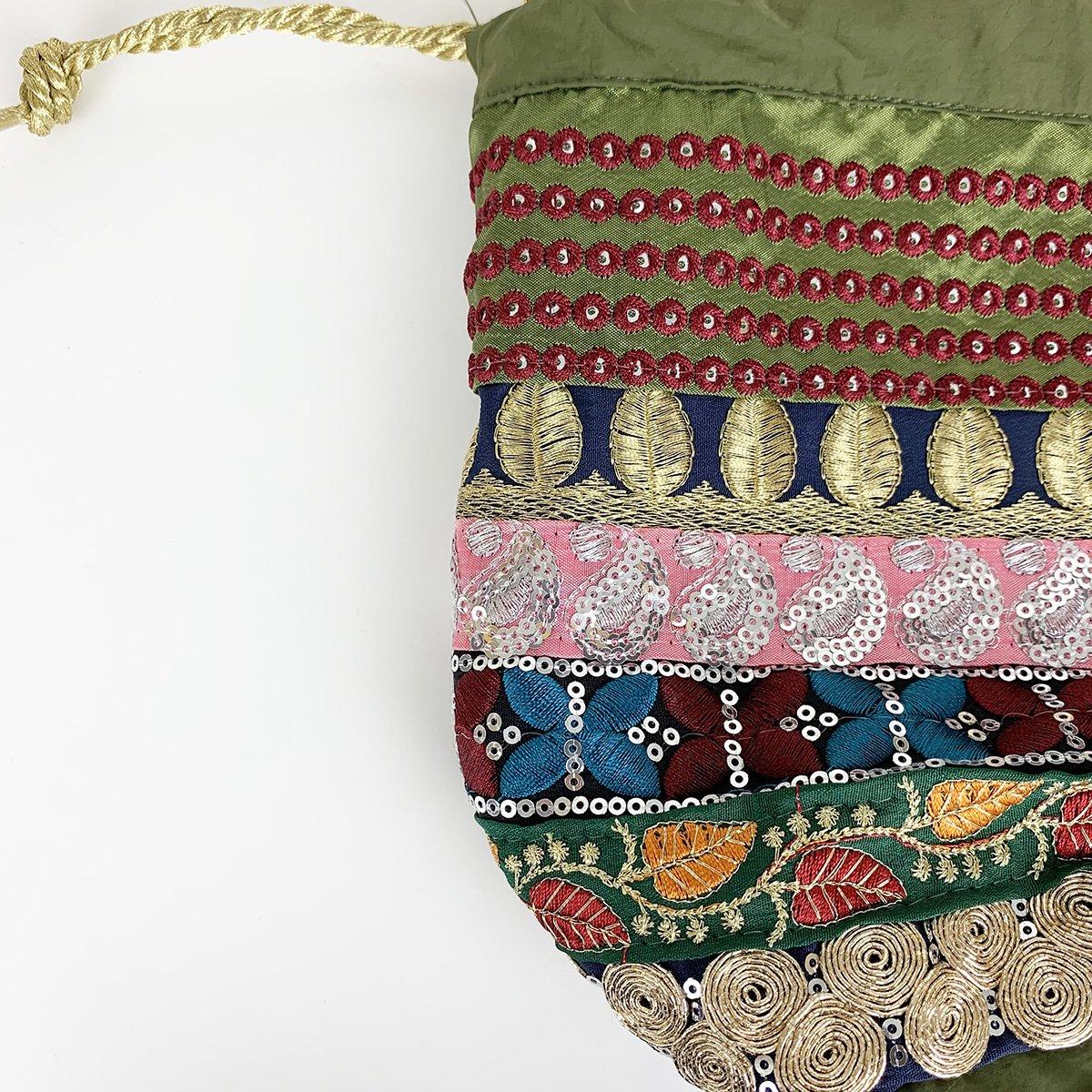 Ethnic Tape Bag 詳細画像3