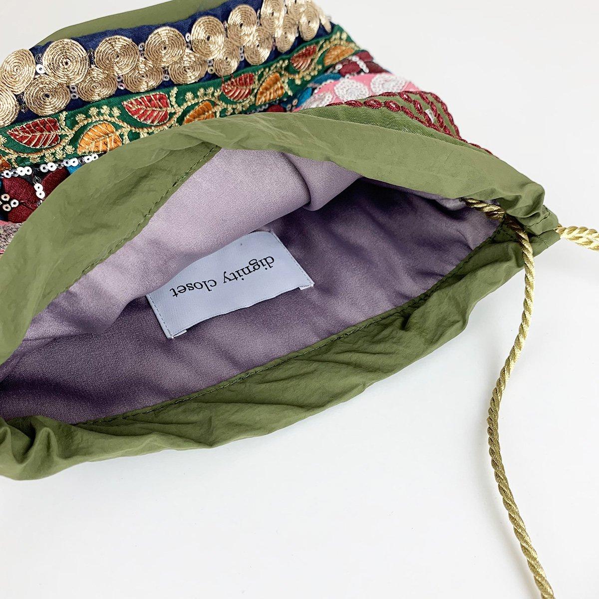 Ethnic Tape Bag 詳細画像4