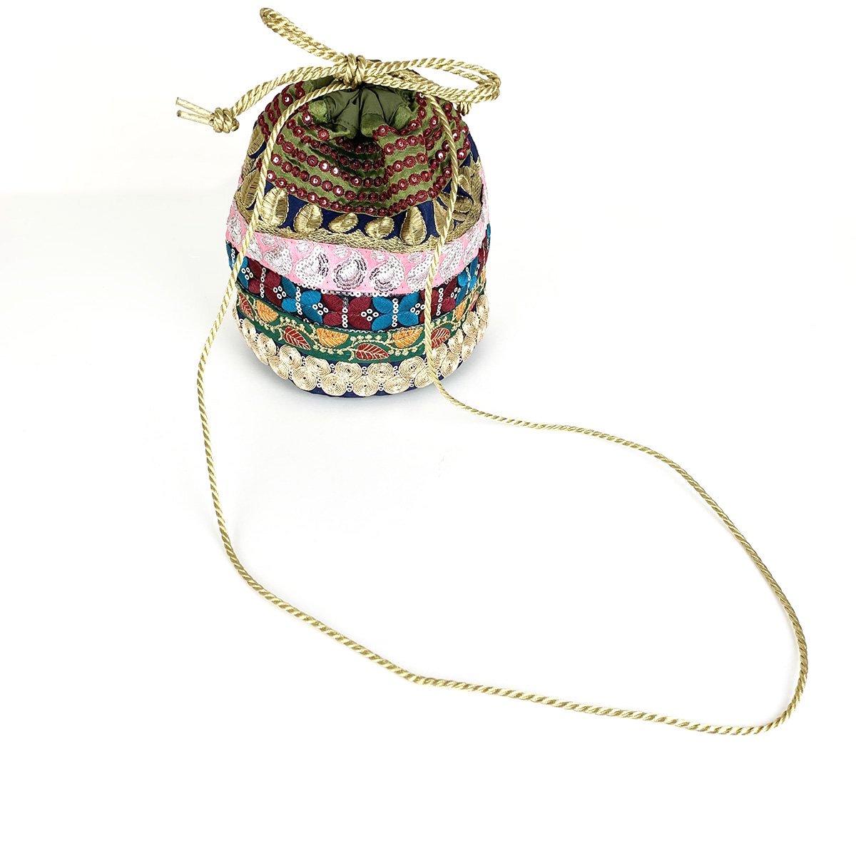 Ethnic Tape Bag 詳細画像5