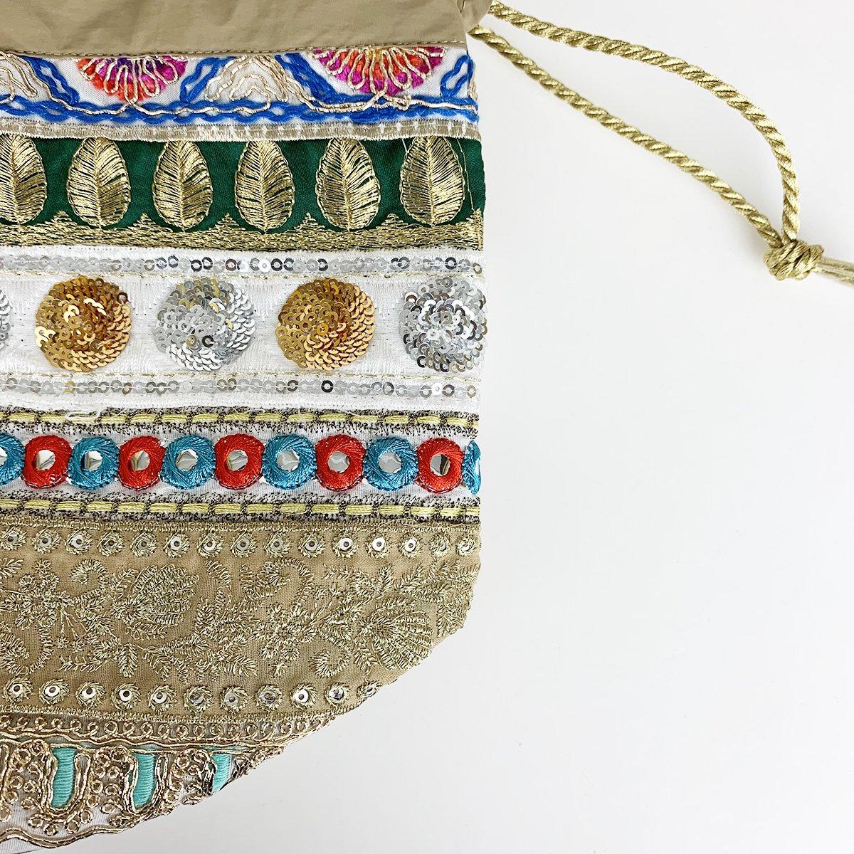 Ethnic Tape Bag 詳細画像6