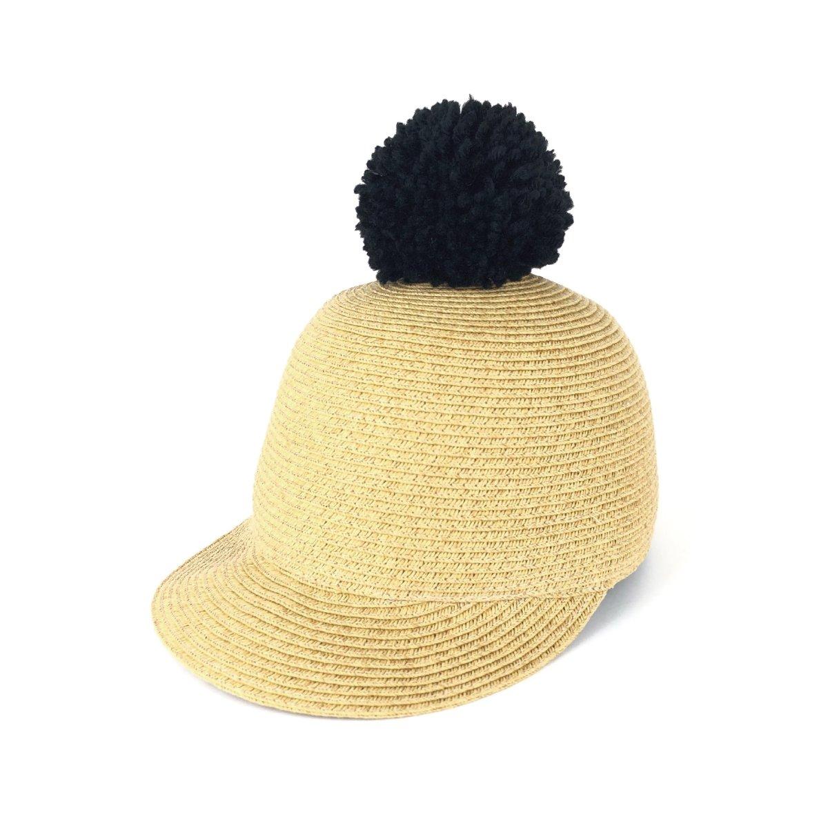 【KIDS】Big Pom Braid Cap 詳細画像1