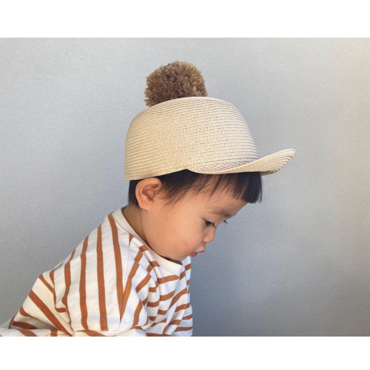 【KIDS】Big Pom Braid Cap 詳細画像10