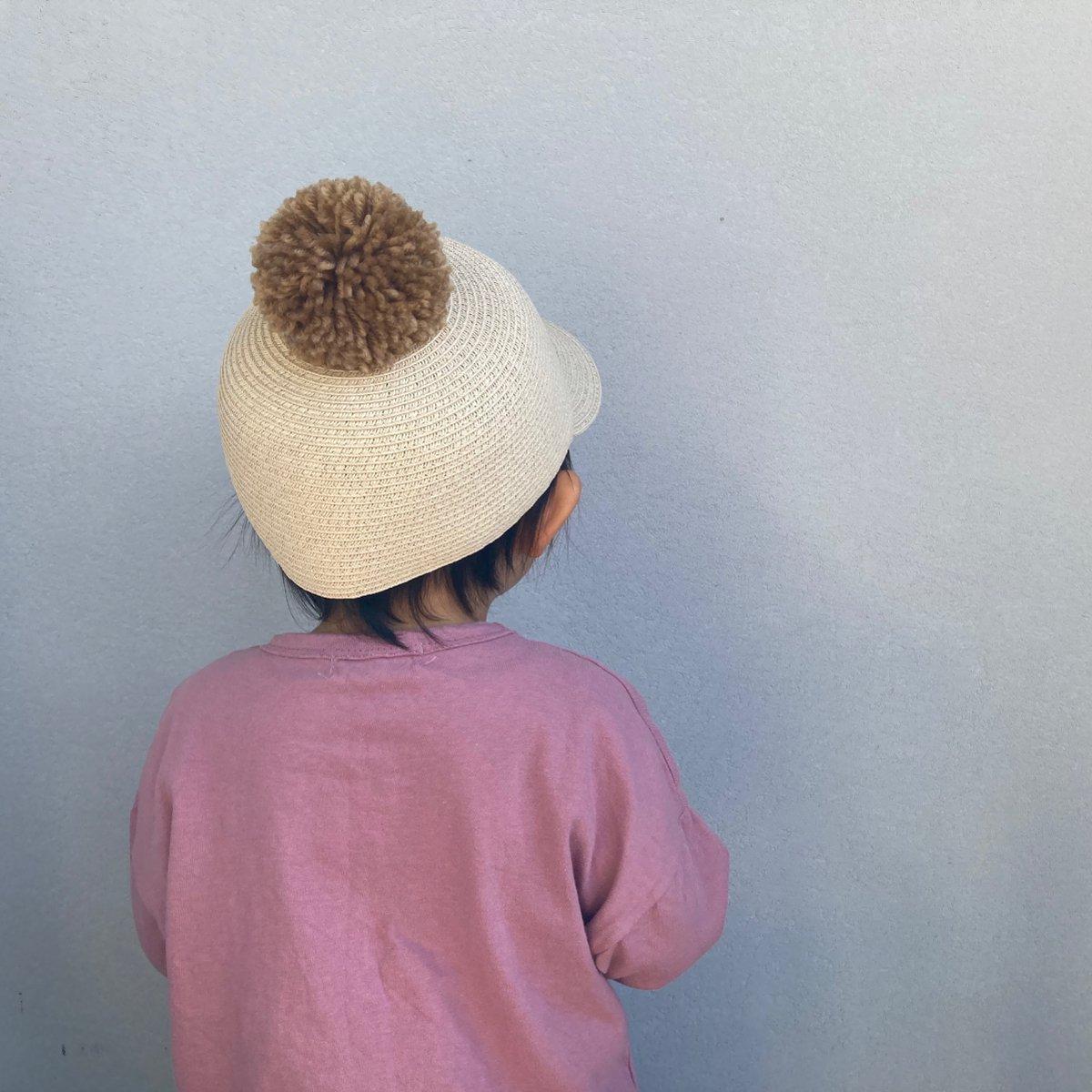 【KIDS】Big Pom Braid Cap 詳細画像11