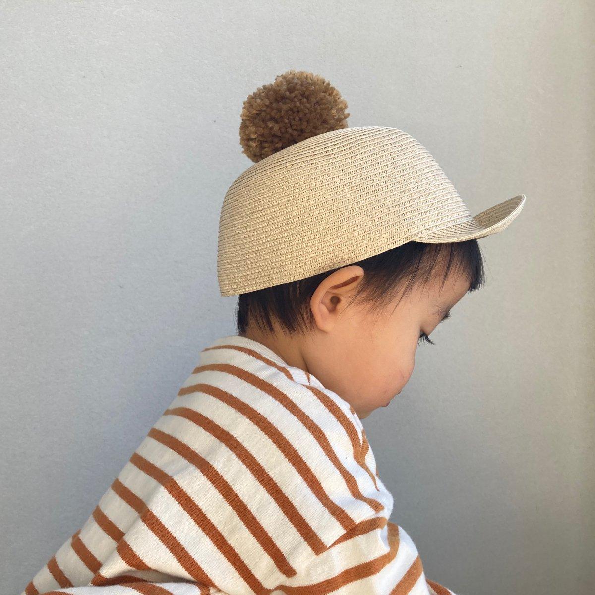 【KIDS】Big Pom Braid Cap 詳細画像12