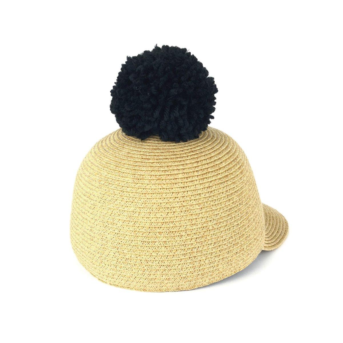 【KIDS】Big Pom Braid Cap 詳細画像5