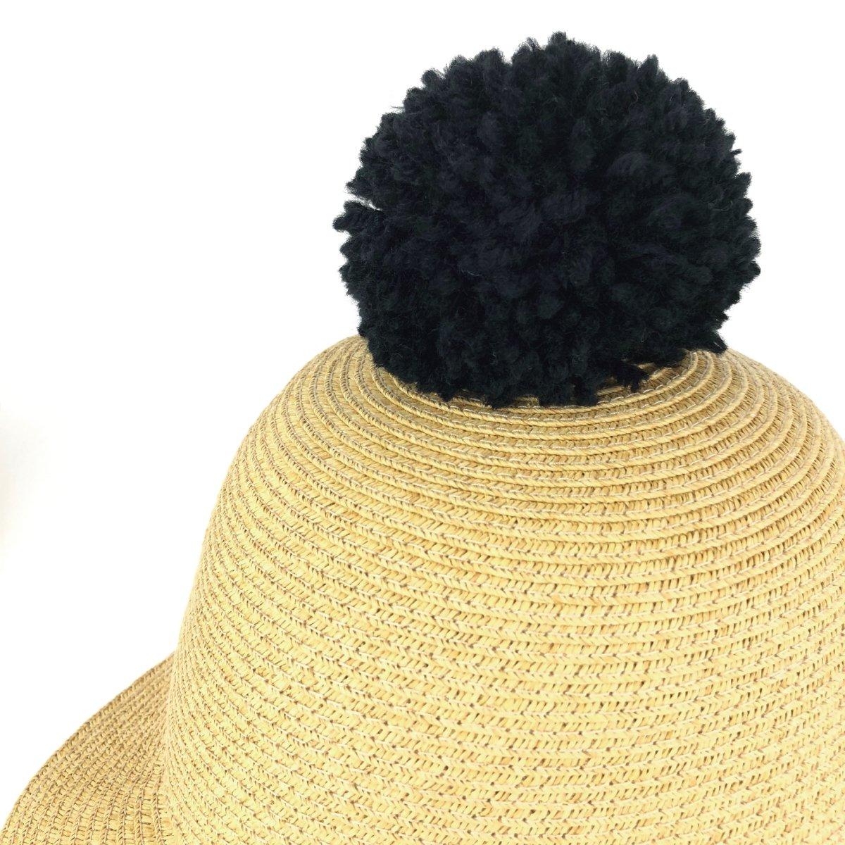 【KIDS】Big Pom Braid Cap 詳細画像8