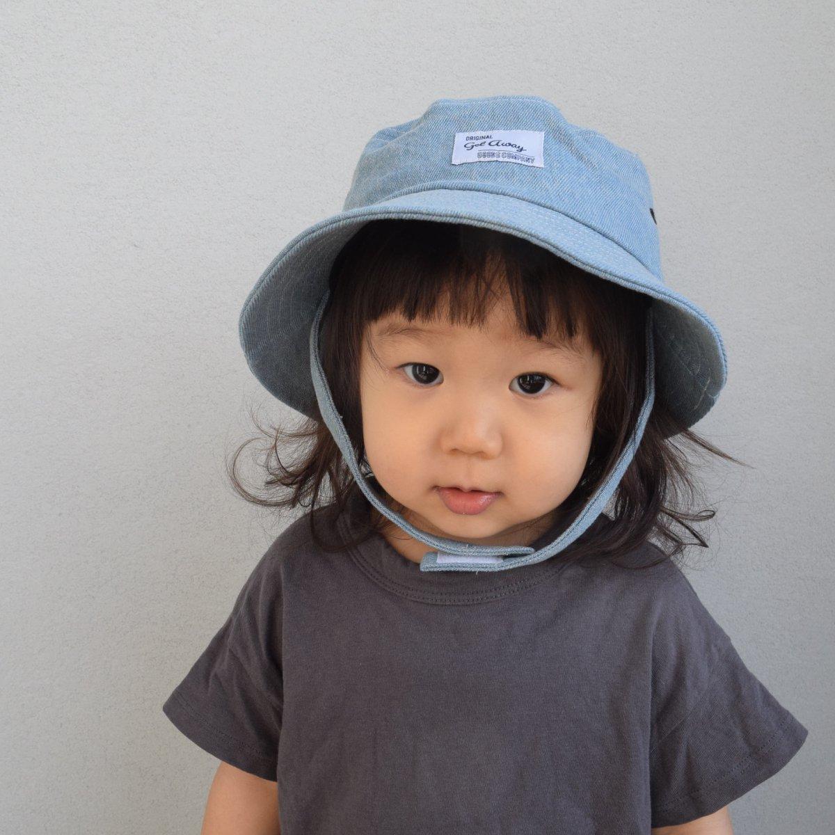 【BABY】Denim Wash Hat 詳細画像12