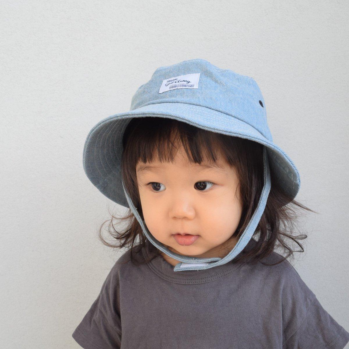【BABY】Denim Wash Hat 詳細画像13