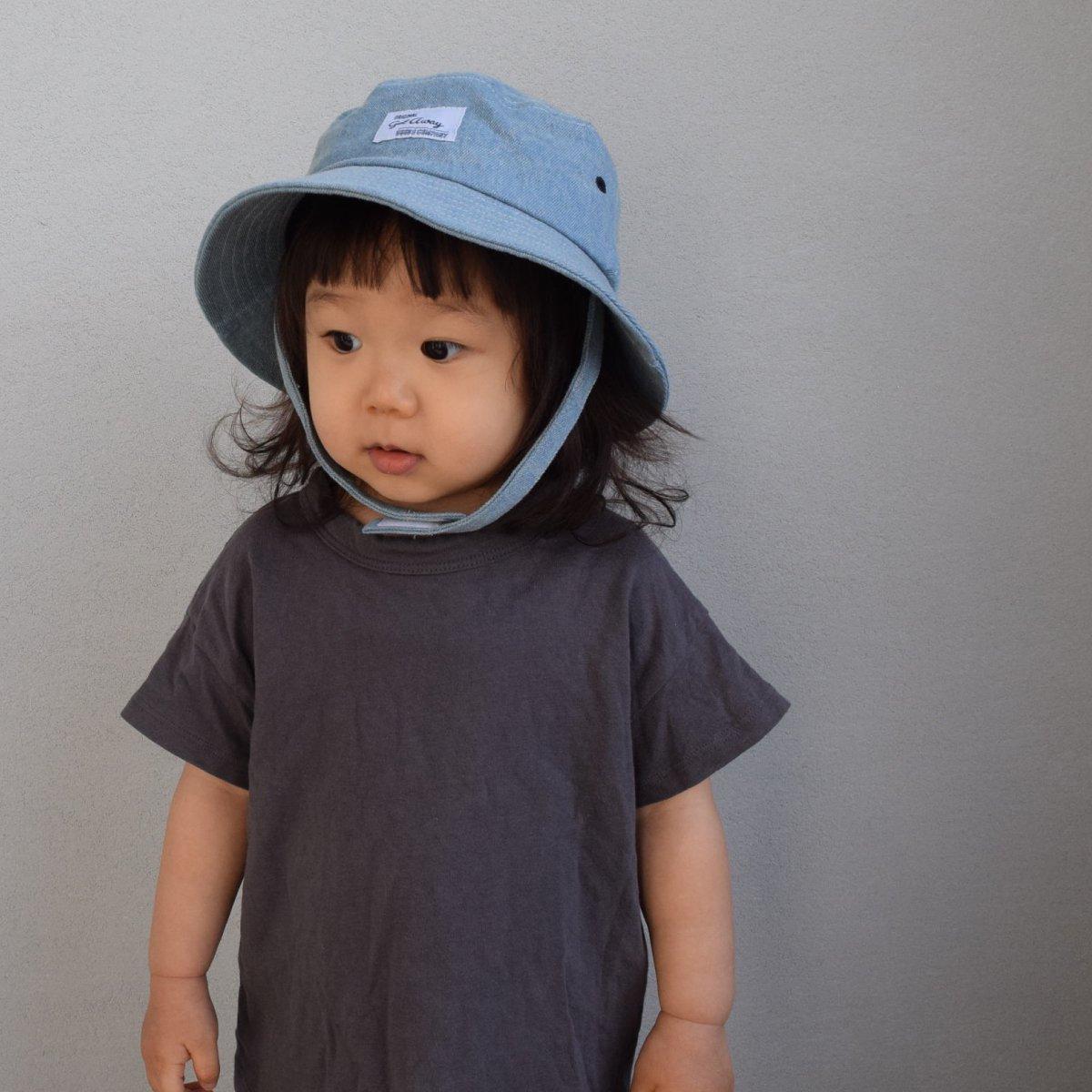 【BABY】Denim Wash Hat 詳細画像14